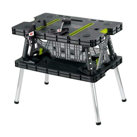 Keter Compact Portable Folding Workbench Table