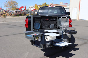 Swing Out Hitch Basket + Base