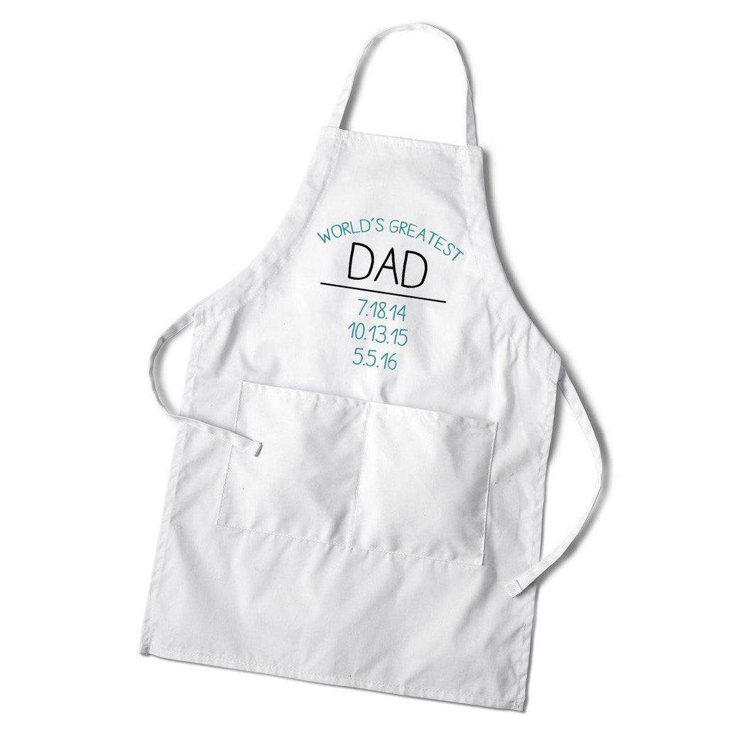 World's Greatest Dad Apron - Everything Man Shop