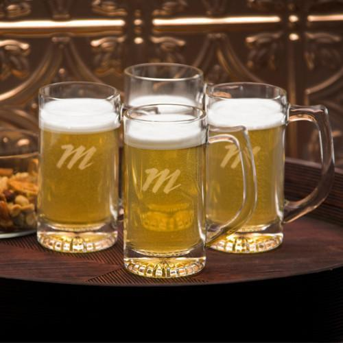 Personalized Tavern Beer IPA Glass Mug Set | Personalized Gifts Under $50 For Men - Everything Man Shop
