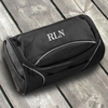 Load image into Gallery viewer, Personalized Hanging Canvas Travel Toiletry Grooming Bag For Men - Everything Man Shop
