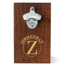 Load image into Gallery viewer, Personalized Wood Plank Wall Bottle Opener | Unique Gifts For Men - Everything Man Shop