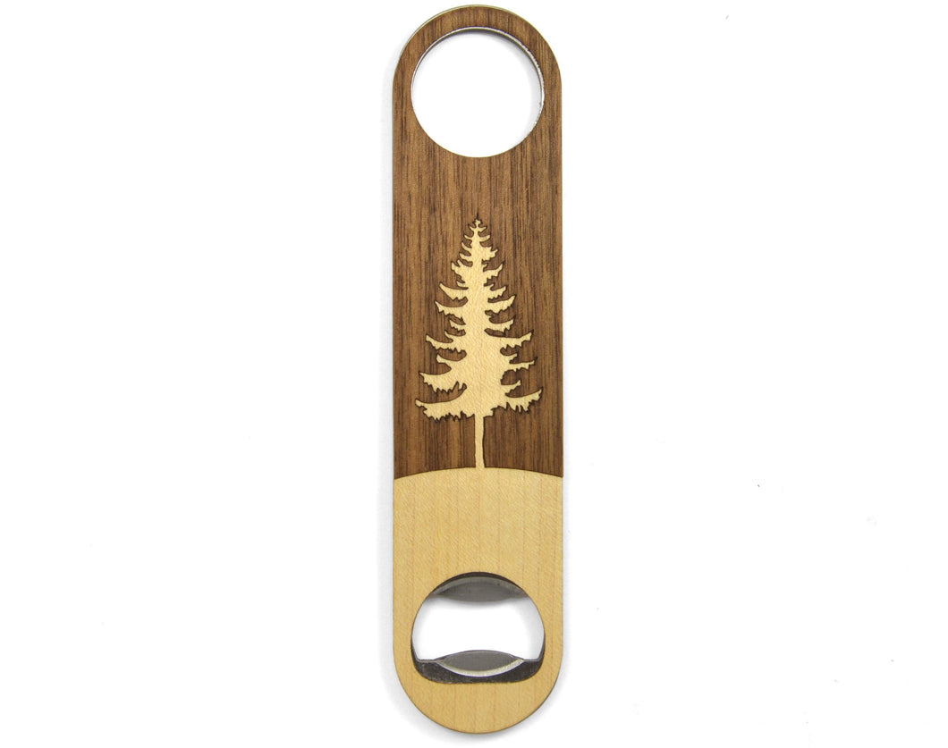 Wood Tree Craft Beer Bottle Opener | Unique Gift For Men - Everything Man Shop