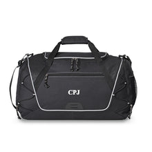 Load image into Gallery viewer, Black Or Blue Personalized Men's Sports | Gym | Workout| Overnight Duffel Bag - Everything Man Shop