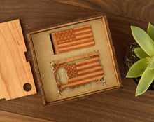 Load image into Gallery viewer, Wood Multi Tool And Money Clip Box Set | Wood Gifts For Him - Everything Man Shop