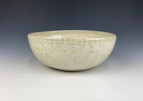 Small Dotted Serving Bowl, green Firefly