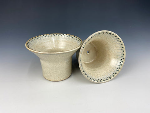 Dotted small planter set, green Firefly