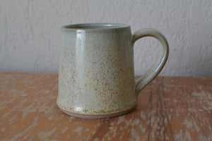 Triangular Mug, green Firefly