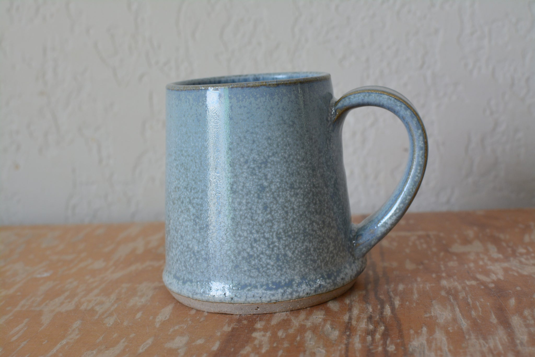 Triangular Mug, light blue Firefly