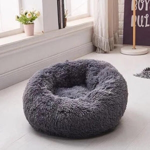 Fluffy Donut Cuddler Bed - Dog-Supplies-Accessories