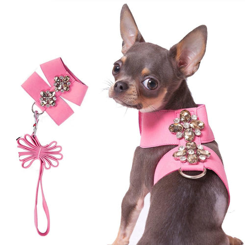 Princess Cute Dog Harness Comfort - Dog-Supplies-Accessories