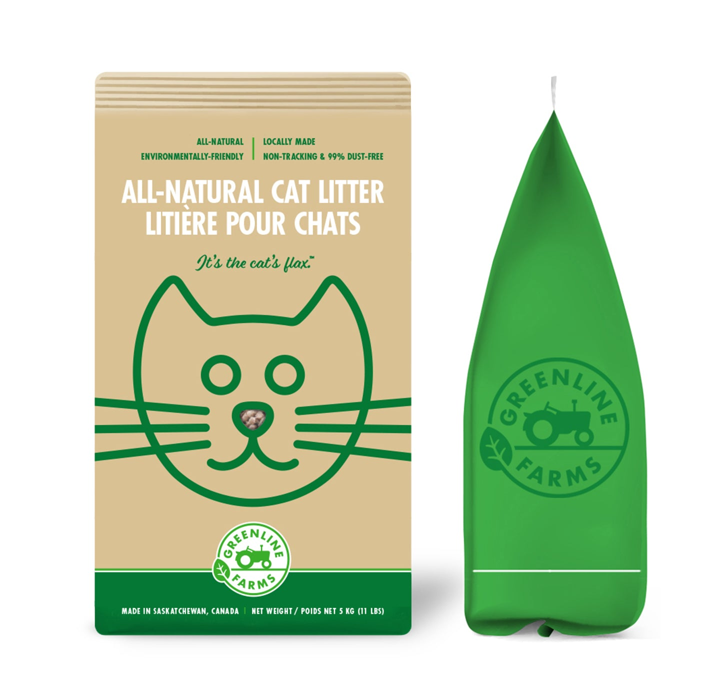 "All-Natural Cat Litter <small style=""color:#777;"">(Coming Soon)</small>"