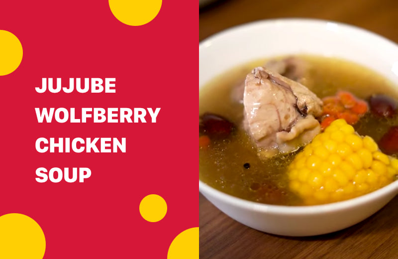 Jujube Wolfberry Chicken Soup