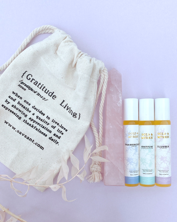 Rose Quartz Generator + Complete Journey Roll-on Blends