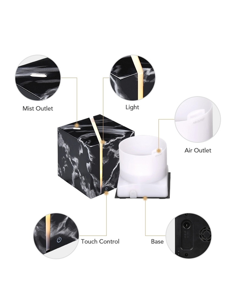 Maine Diffuser Bundle - White Marble