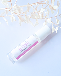 Rose Roll-on Blend with Rose Quartz