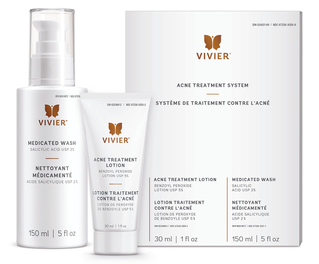 Vivier Skin - Acne Treatment System