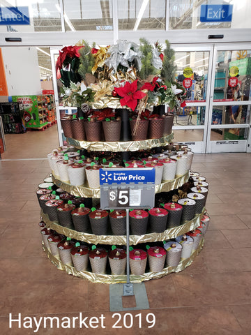Holiday Display for Walmart Stores