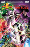 Power Rangers Teenage Mutant Ninja Turtles #1 Cover Alpha Matt Frank Exclusive