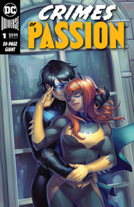 Crimes of Passion #1 Nightwing and Batgirl Exclusive