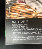 We Live #1 Jorge Corona METAL Exclusive #8 of 10