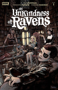 An Unkindness of Ravens #1 Cover A by Dan Panosian