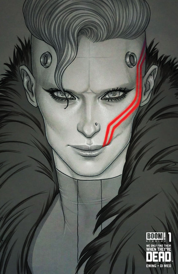 We Only Find Them When They're Dead #1 Jenny Frison B&W Exclusive Variant