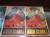 Kaiju Score #1 Cover Alpha Exclusive by Matt Frank