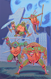 TMNT #100 Cover Alpha Rob Guillory Exclusive
