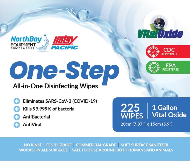 WIPES with VITAL OXIDE - 225 count