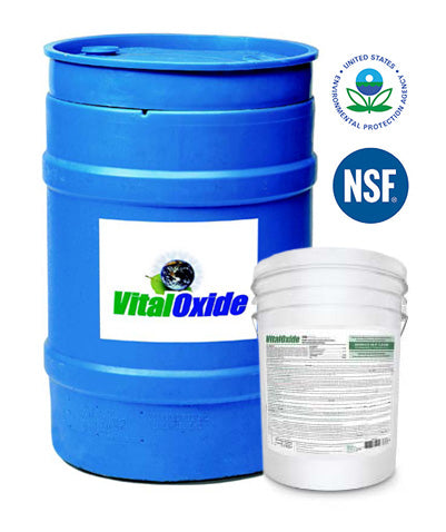 VITAL OXIDE - DISINFECTANT- 55 gal