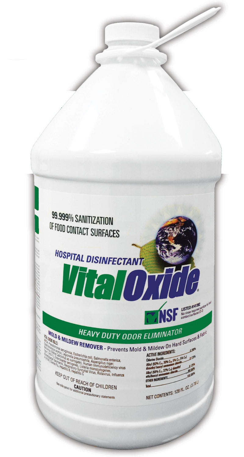 VITAL OXIDE - DISINFECTANT- 4 Pack -  1 gallon size