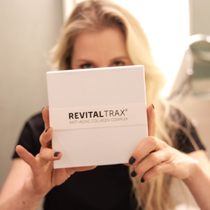 RevitalTrax Anti-Aging Collagen Complex gepresenteerd door Maaike Dorsteen.