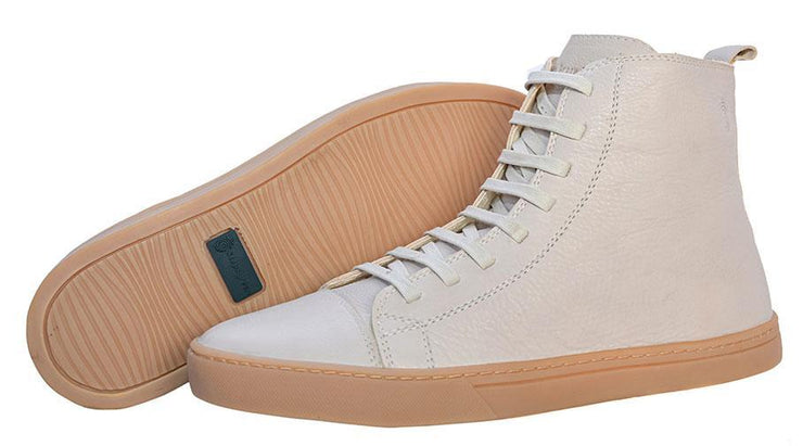 Boot Coturno Male Boot Use Leather Shoelaces Biodegradable Off-White