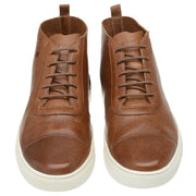Boot Male Bells Leather Shoelaces Biodegradable Casual Caramel