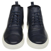 Boot Male Bells Leather Shoelaces Biodegradable Casual Marine