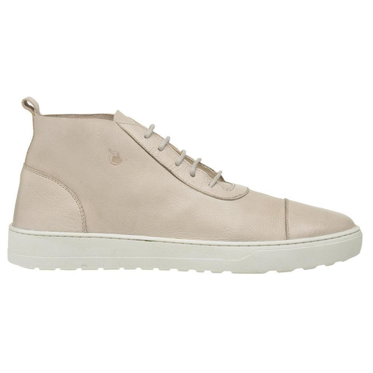 Boot Male Bells Leather Shoelaces Biodegradable Casual Off-White