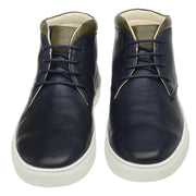 Male Leather Boot Mandalay Shoelaces Biodegradable Casual Marine