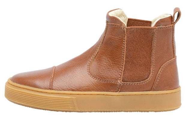 Boot Sneaker Leather Chelsea Sustainable Child Resistant Caramel