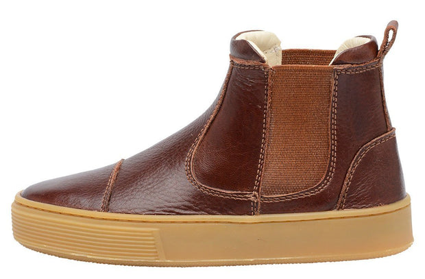 Boot Sneaker Leather Chelsea Child Resistant Sustainable Mahogany