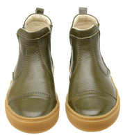 Boot Sneaker Leather Chelsea Sustainable Child Resistant Green