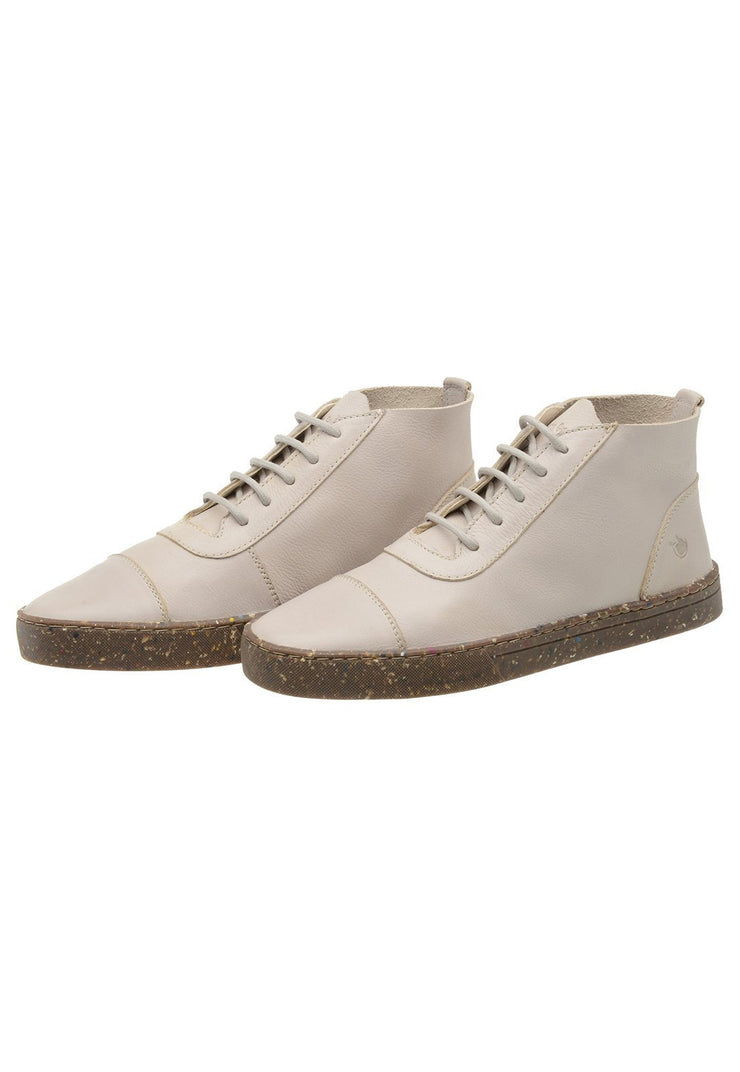 Sneaker Female Bells Leather Cano Low white