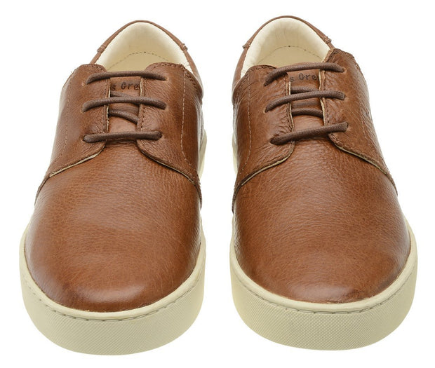 Sneaker Female Bondi Leather Shoelaces Biodegradable Casual Caramel