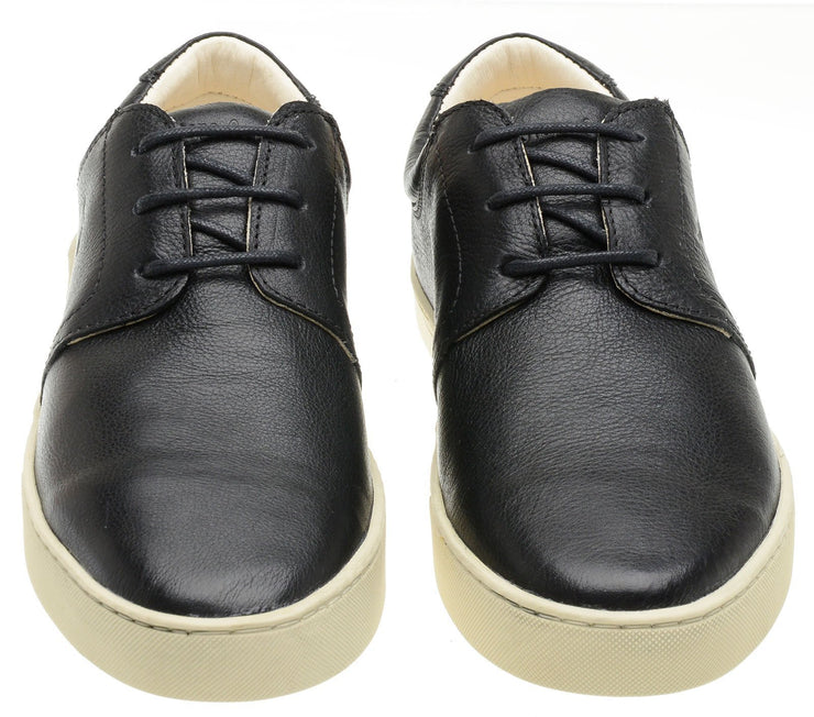 Sneaker Female Bondi Leather Shoelaces Biodegradable Casual Black