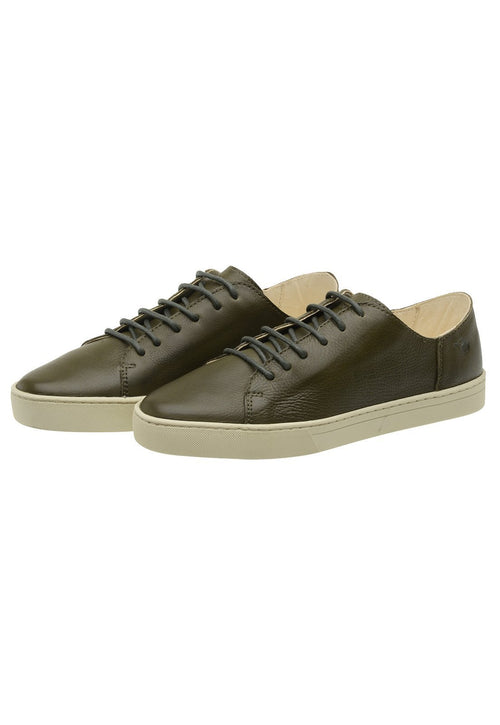 Sneaker Female Byron Leather Shoelaces Biodegradable Casual Green