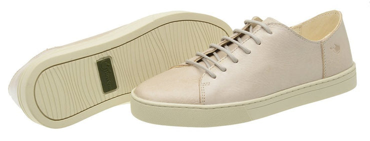 Sneaker Female Byron Leather Shoelaces Biodegradable Casual white