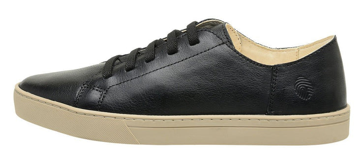 Sneaker Female Leather Shoe Easy Biodegradable Black