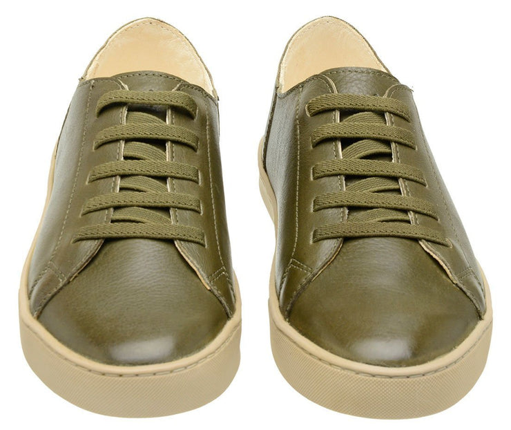 Sneaker Female Shoe Leather Biodegradable Easy Green