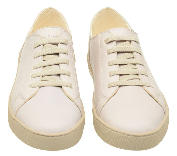 Sneaker Female Leather Shoe Easy Biodegradable white