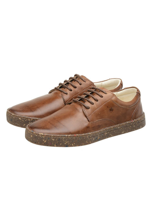 Sneaker Female Gold Coast Leather Biodegradable Caramel